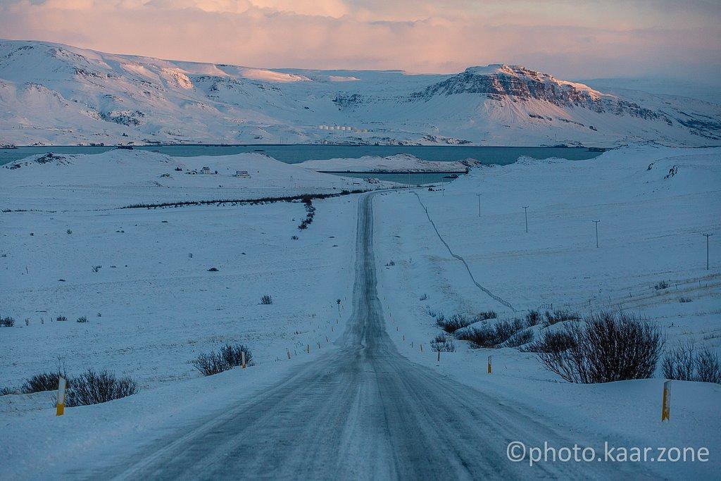 Entering Hvalfjörður
