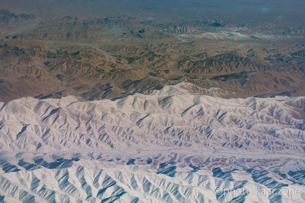 Northern Rim of The Taklamakan Desert