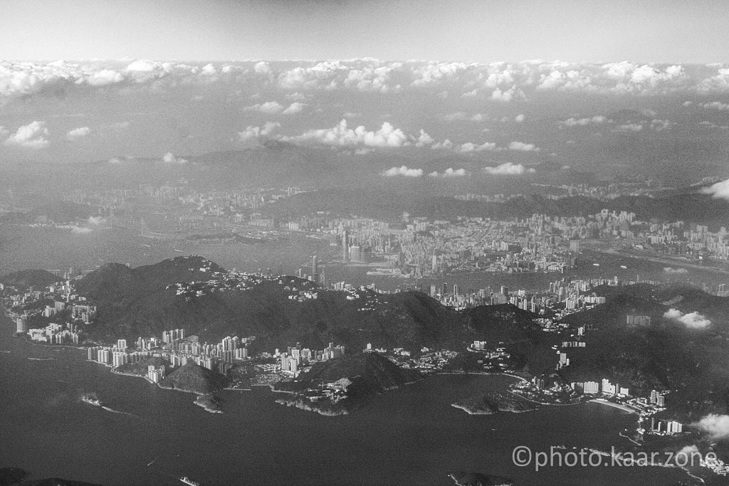 Hong Kong Island and Kowloon