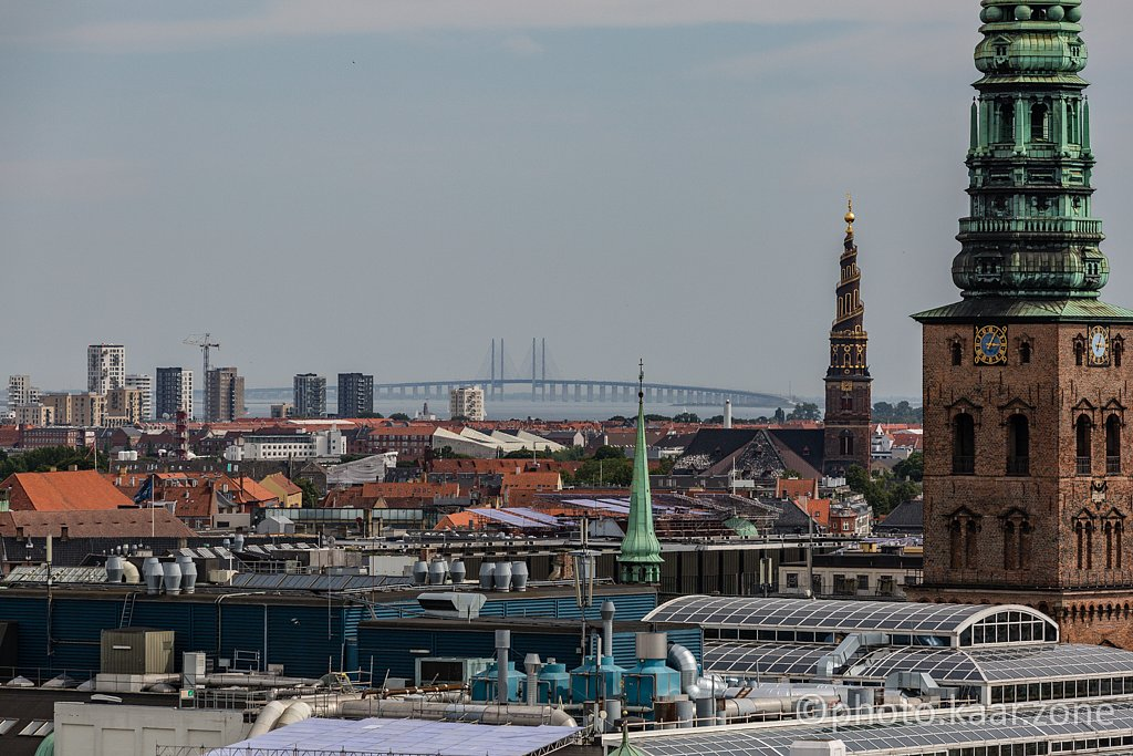 Øresund Bridge from Rundetaarn