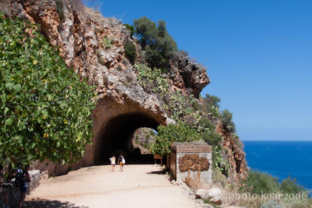 Entering Zingaro National Park