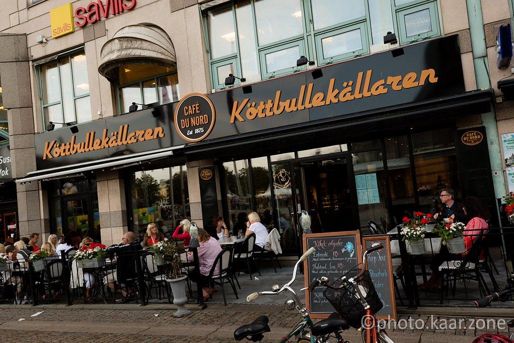 Köttbullar served only. True story.