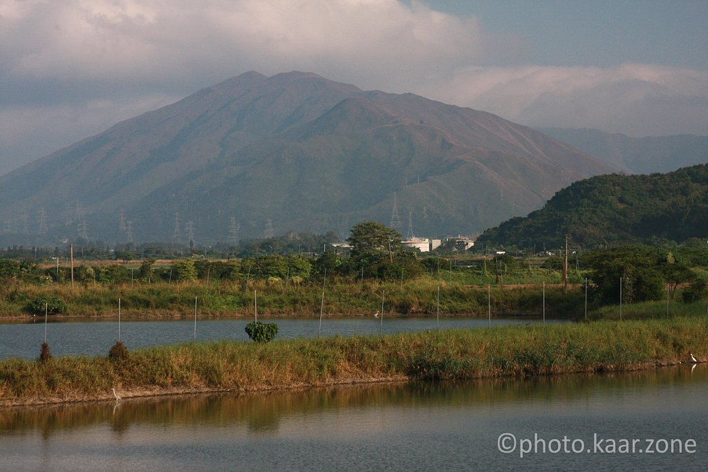 Fung Lok Wai and the Lam Tsuen Country Park