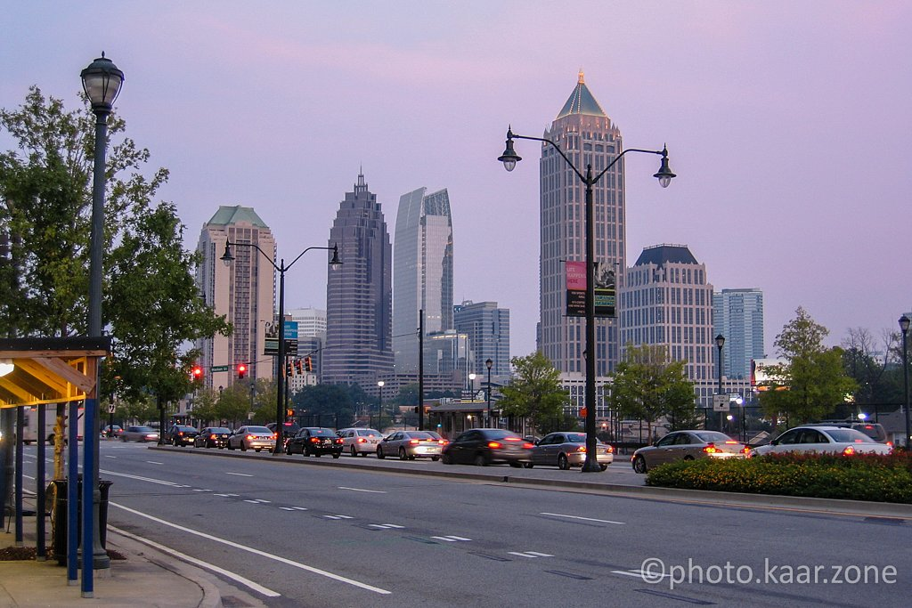Atlanta Midtown from Atlantic Station