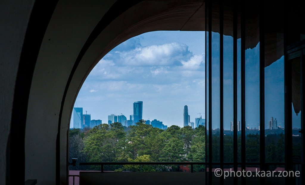 Buckhead and Woodruff Library Balcony