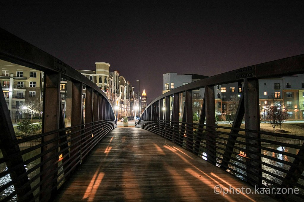 The Mecaslin St Pedestrian Bridge